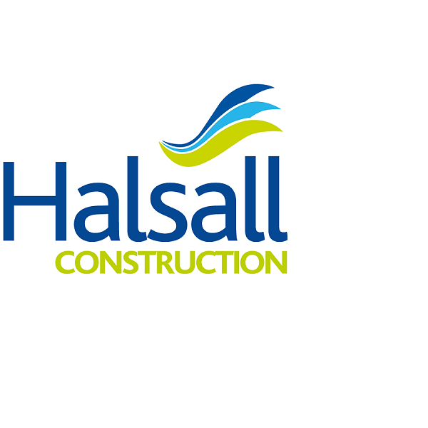 600Halsall Construction Logo PNG Transparent